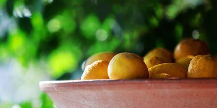Sitronene vokser over alt