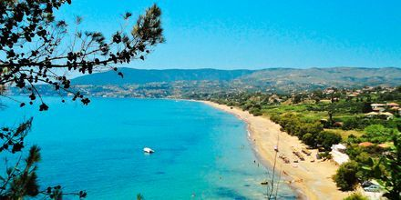 Innbydende strender i Peloponnes