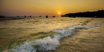Halong-stranden i Kambodsja