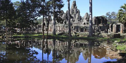 Bayon tempel i Kambodsja