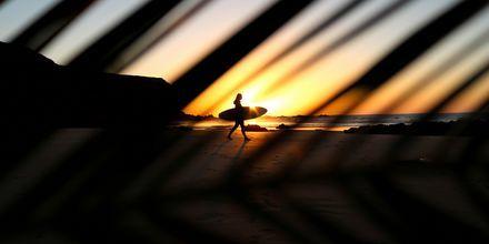 Solnedgang over Fuerteventura