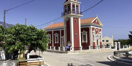 Kirken i Karavados på Kefalonia