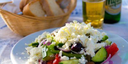 Ikke en Hellas-ferie uten gresk salat!
