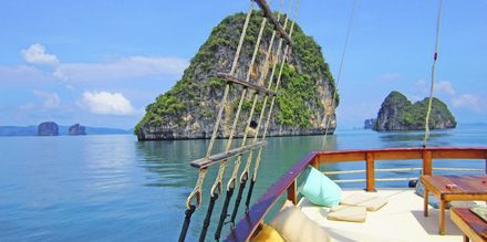 På båtutflukt med Champagne