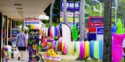 Shopping i Karon Beach