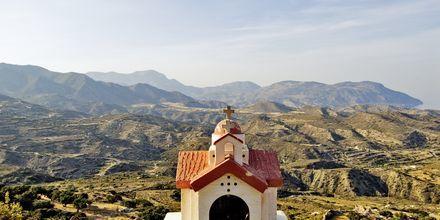 Fjellandsbyen Menetes på Karpathos