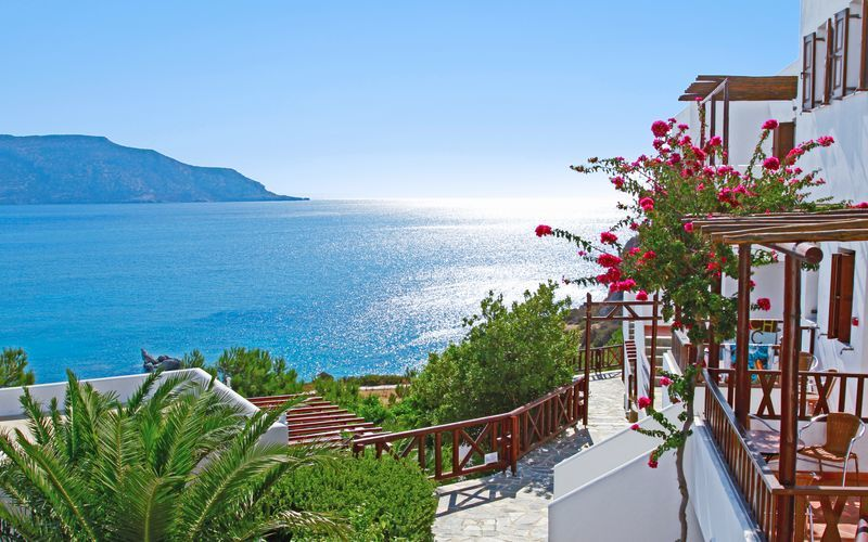Hotellet Aegean Village i Amopi