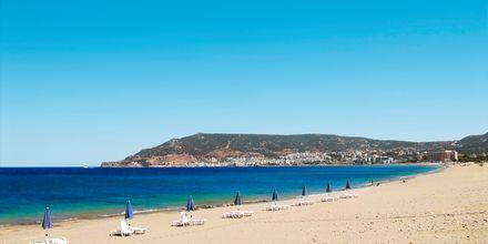 Stranden i Karpathos by
