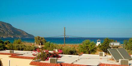Utsikten fra Karpathos Village på Karpathos
