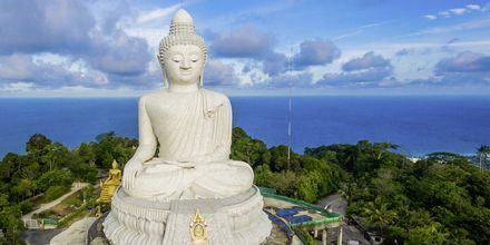 Big Buddha er et velkjent landemerke i Phuket