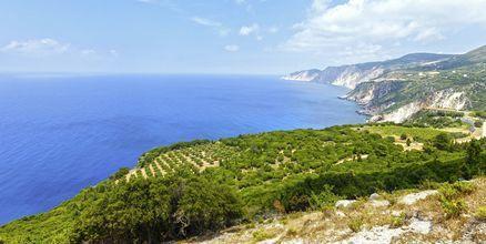 Kefalonia er en vakker og grønn øy i Hellas.