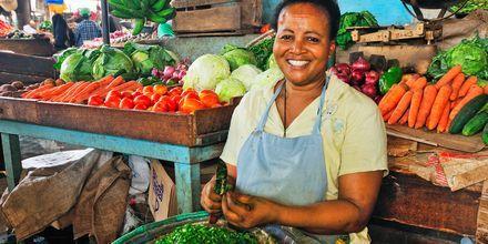 Frukt og grønt i Mombasa