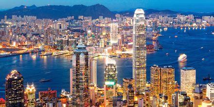 Beijing er en mektig storby med skyskrapere, stor befolkning og tilbud.
