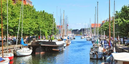 Kanalen i Christianshavn, København.