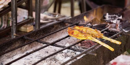 Street food i Ban Saladan, Koh Lanta