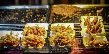 Thailandske godsaker på matmarkedet