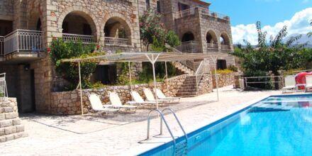 Koloktronis Hotel & Spa i Stoupa, Peloponnesos.