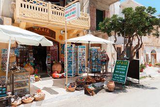 Shopping i Kolymbari