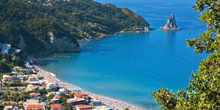 Lille Agios Gordis på Korfu