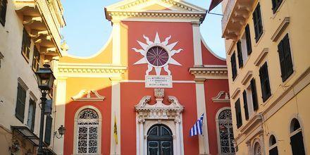 Kirken Panagia Spiliotissa i Korfu by