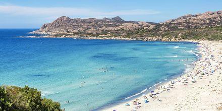 Ostriconi beach på Korsika.