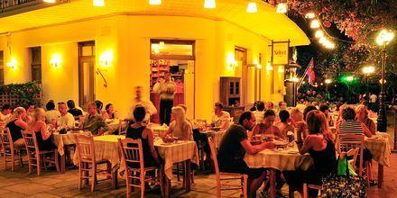 En restaurant i Kos by