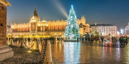 Julemarked i Krakow.