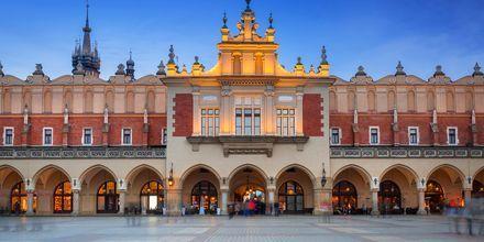 Rynek Glóvny, torget i gamlebyen.