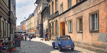 Kazimierz, de jødiske kvartalene i Krakow.