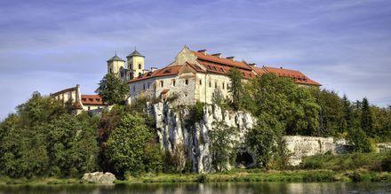 Benediktiner-klosteret i Tyniec, litt utenfor Krakow
