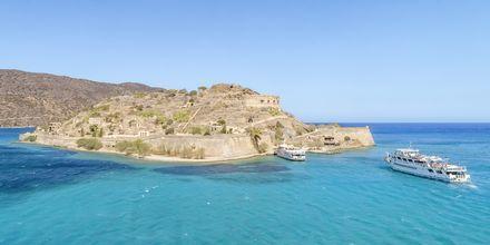 Bli med til Spinalonga som ligger rett utenfor Kreta