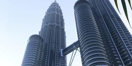 Petronas Towers i Kuala Lumpur.