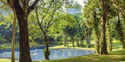 Central Park i Kuala Lumpur i Malaysia