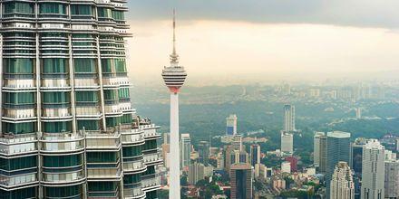 TV-tårnet Menara Kuala Lumpur er en av byens mest kjente severdigheter.