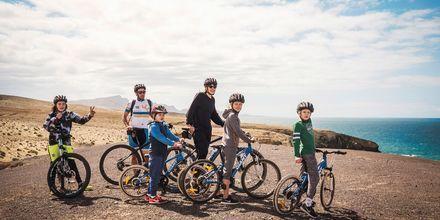 Aktive familier trives godt på La Pared