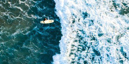 Surfing på La Pared