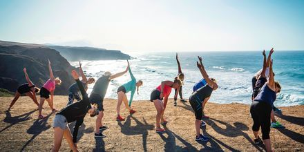 Yoga på La Pared