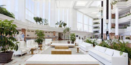 Lobbyen på hotellet