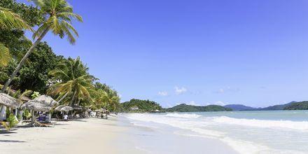 Pantai Cenang på Langkawi er den mest besøkte stranden.