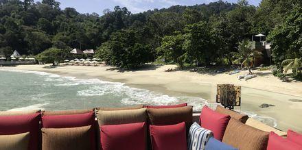 Å bo lukrativt i regnskogen på Langkawi er fullt mulig. Her fra Ritz Carlton.