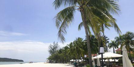 Langkawi er en paradisøy med de aller beste strendene. Hvorfor ikke bo ved en av de? Her fra Meritus Pelangi Beach Resort.