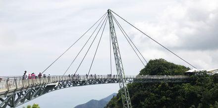 Langkawi Skybridge. Et landemerke og det perfekte fotostoppet!