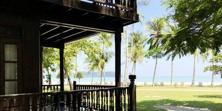 Langkawi har en rekke fantastiske strandhoteller og resorter. Her et bilde fra Meritus Pelangi Beach Resort.