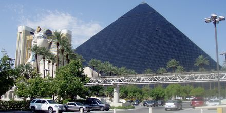 Særpreget hotell i Las Vegas