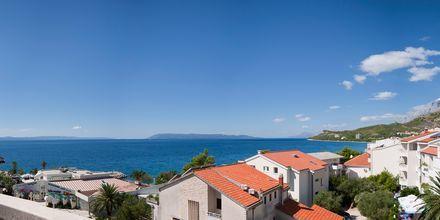 Utsikt fra Laurentum i Tučepi i Kroatia
