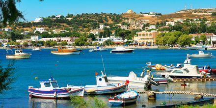 Liten havn på Leros