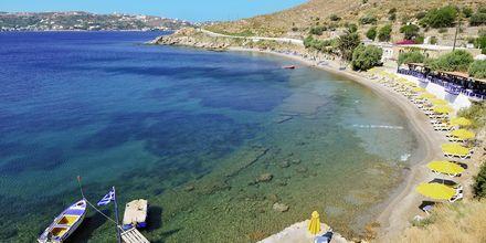 Strand på Leros