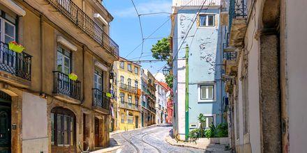 Alfama, Gamlebyen i Lisboa.