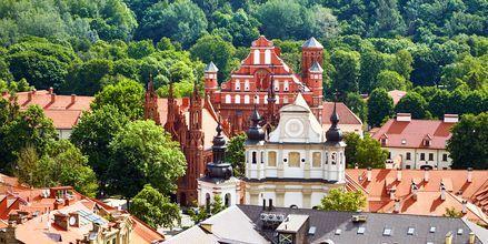 Det hyggelige og grønne Vilnius.