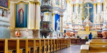 Katedral i Kaunas, Litauen.